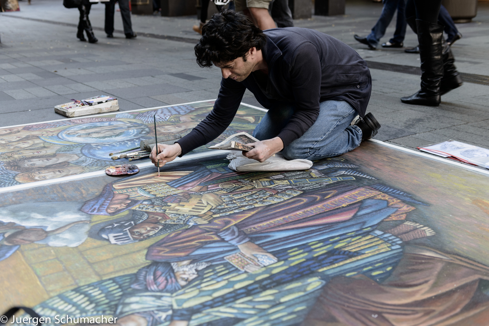 Artist in Sydney