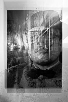 Artist JanLeonardo In B&W