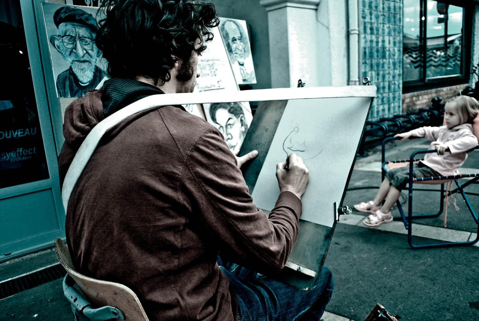 Artiste de rue .