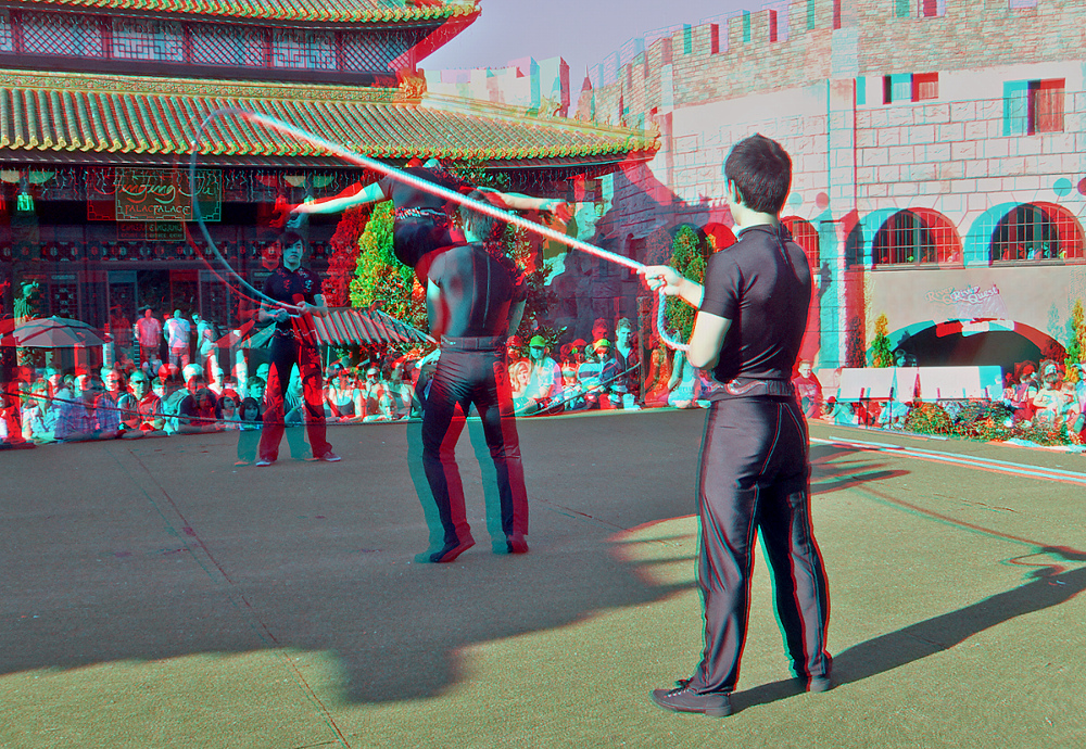 Artisten (3D für rot/cyan Brille + MPO)