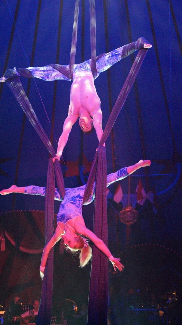 Artisten im Circus Roncalli