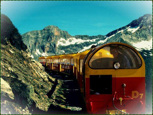 Artouste's train