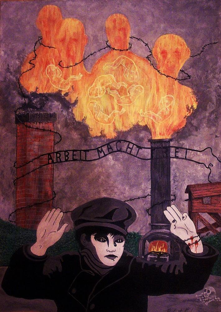 Artwork For Poem, The Holocaust