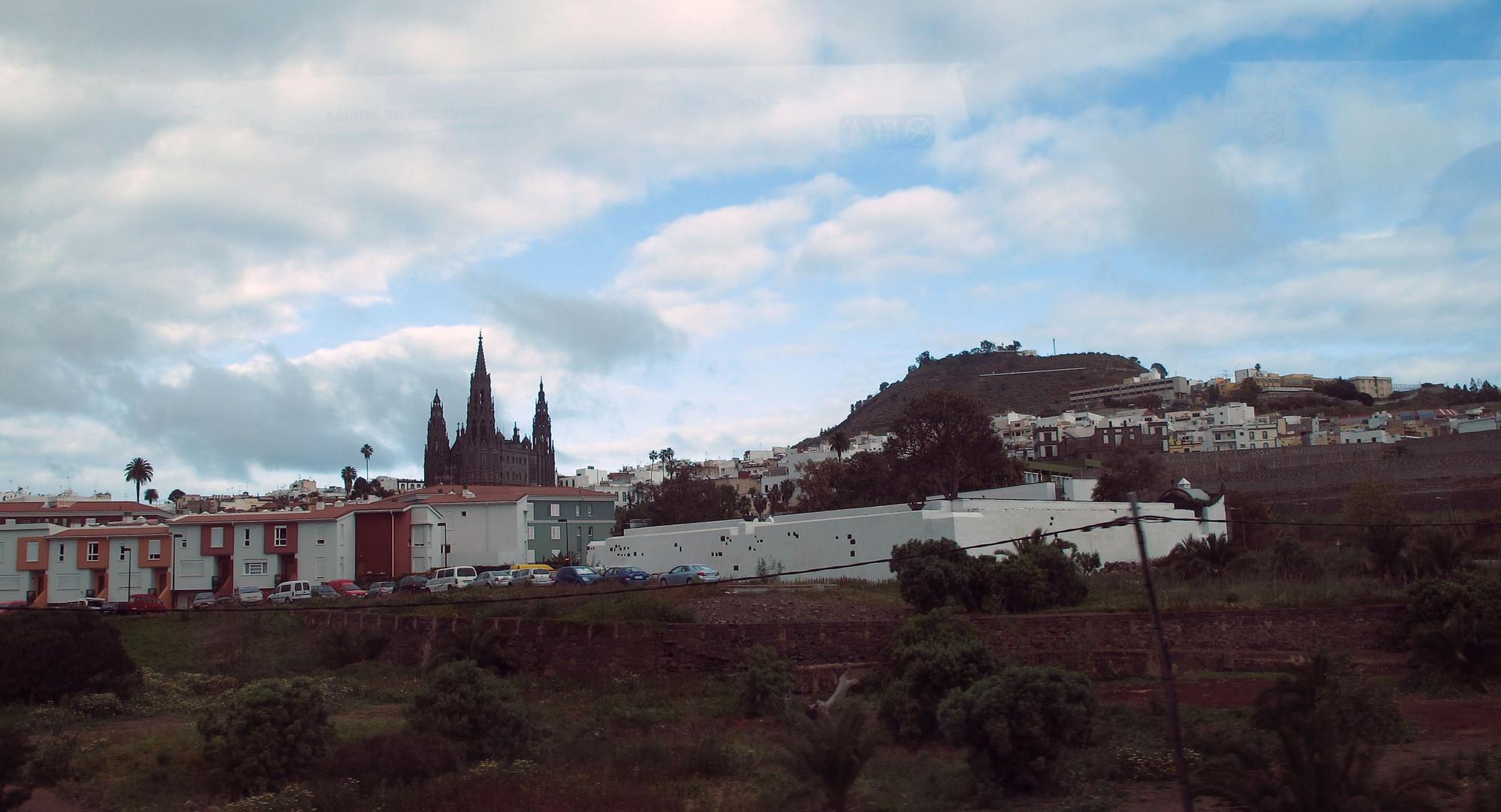 Arucas mit der Kathedrale