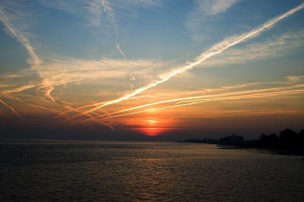 ...as sun goes down...