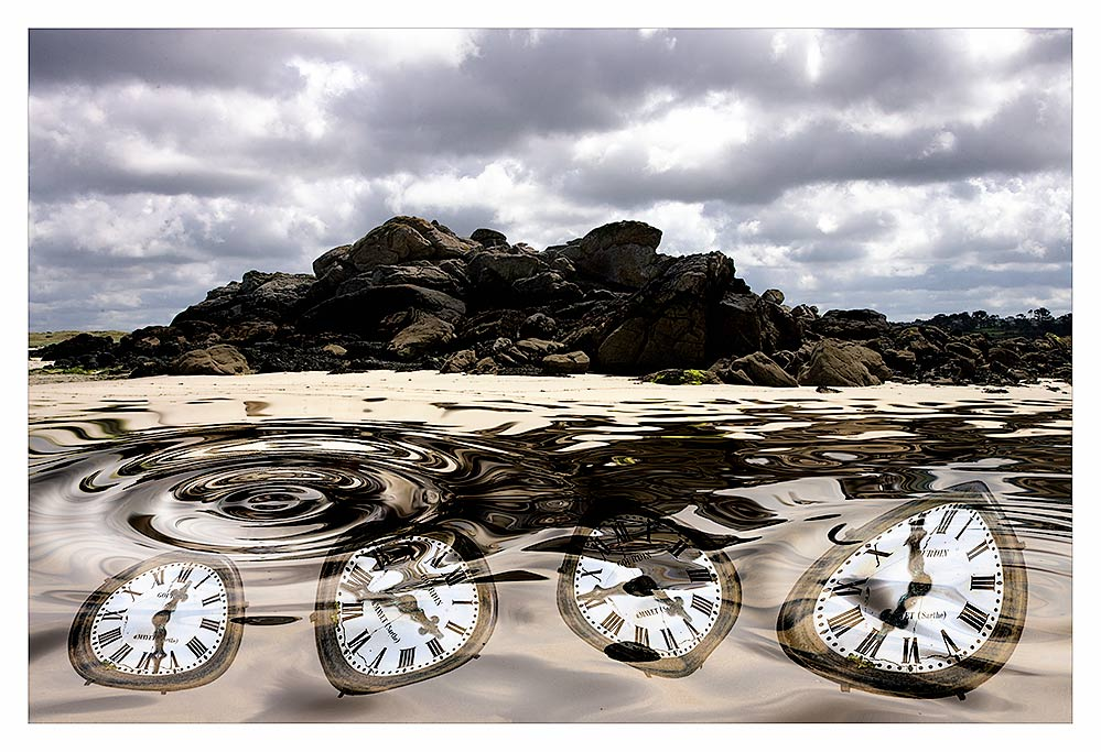 As Time floats by