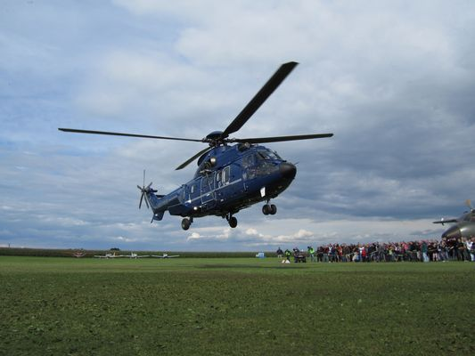 AS332 der Bundespolizei ~ Tannkosh 2010