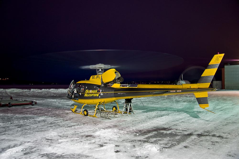 AS350 B2   SE-JFL I.    Osterman Heliport