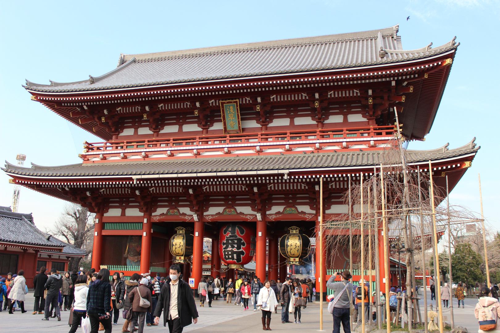 Asakusa Senso-ji Tempel (2)