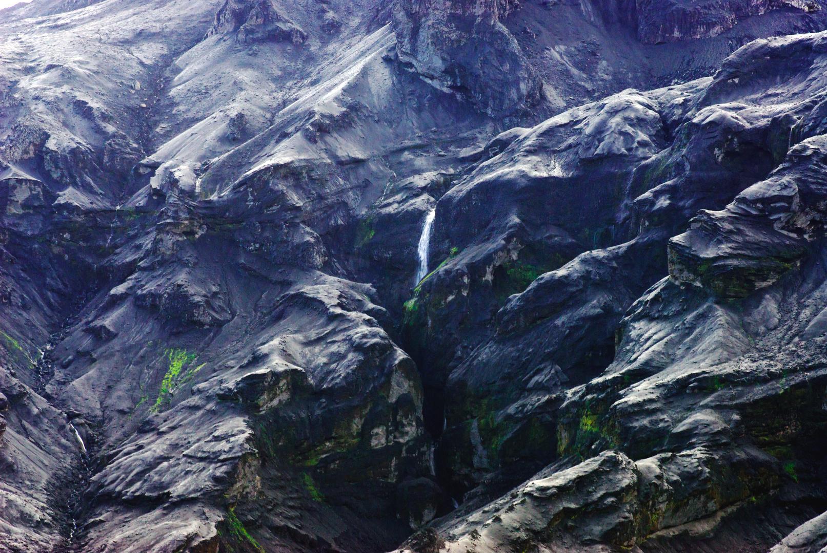 Aschenlandschaft, Island