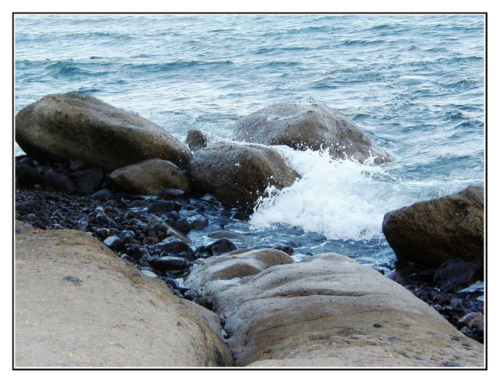 ascoltando il suono delle onde....