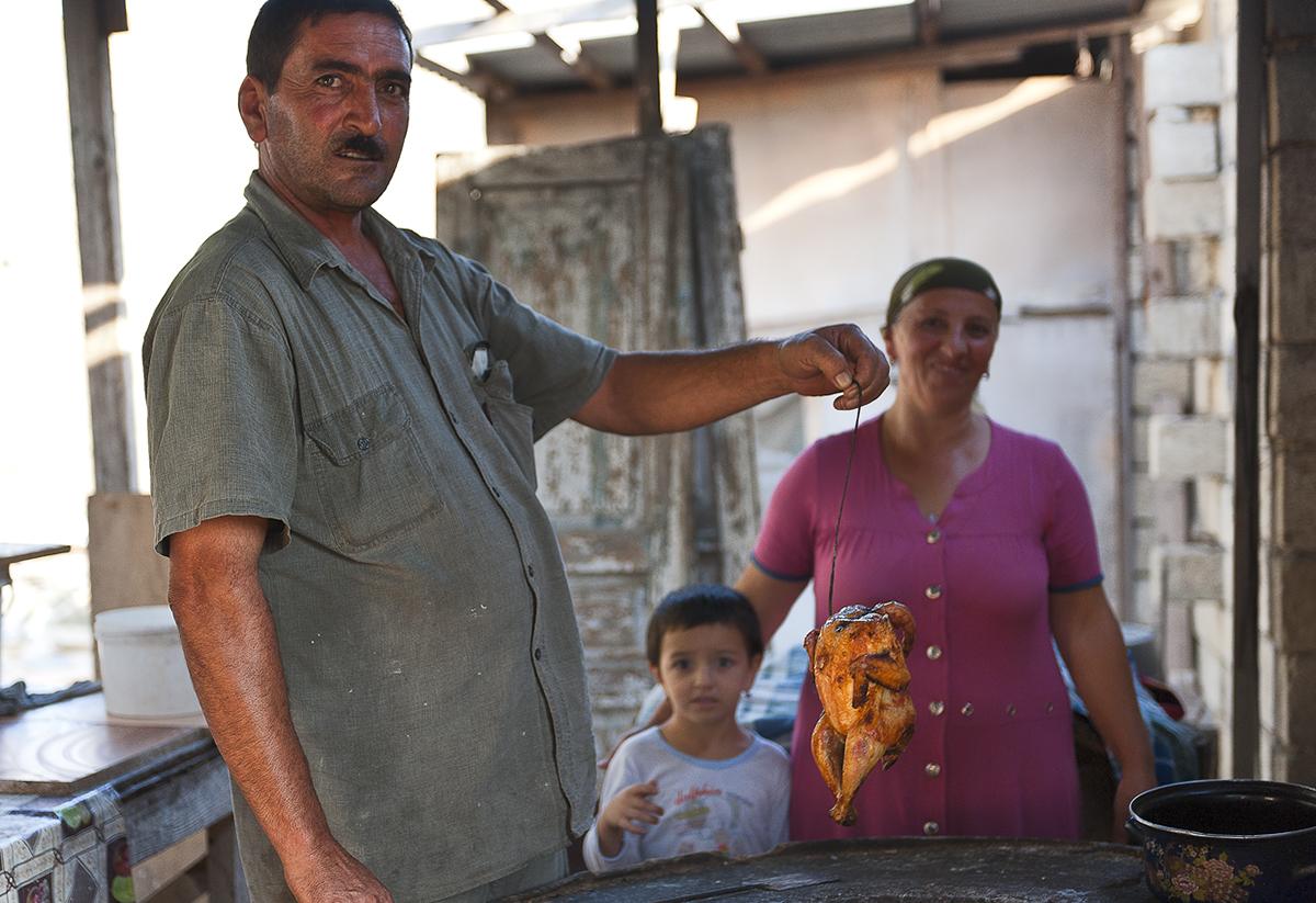 Aserbaidschan Fried Chicken