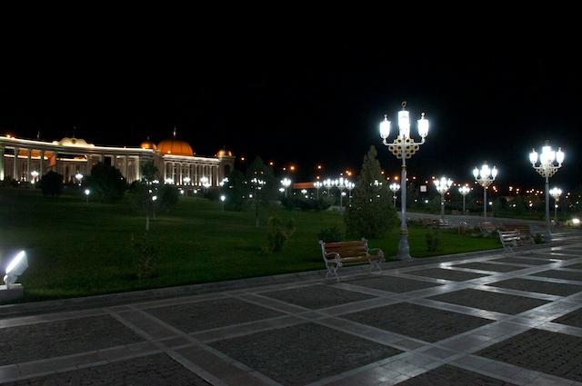 Ashgabat ein Traum an Parks und Fontainen