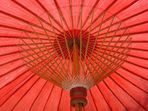 Asiatischer Sonnenschirm
