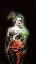 Asien Bodypainting