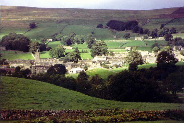 Askrigg in den Yorkshire-Dales... der Doktor und das liebe Vieh...