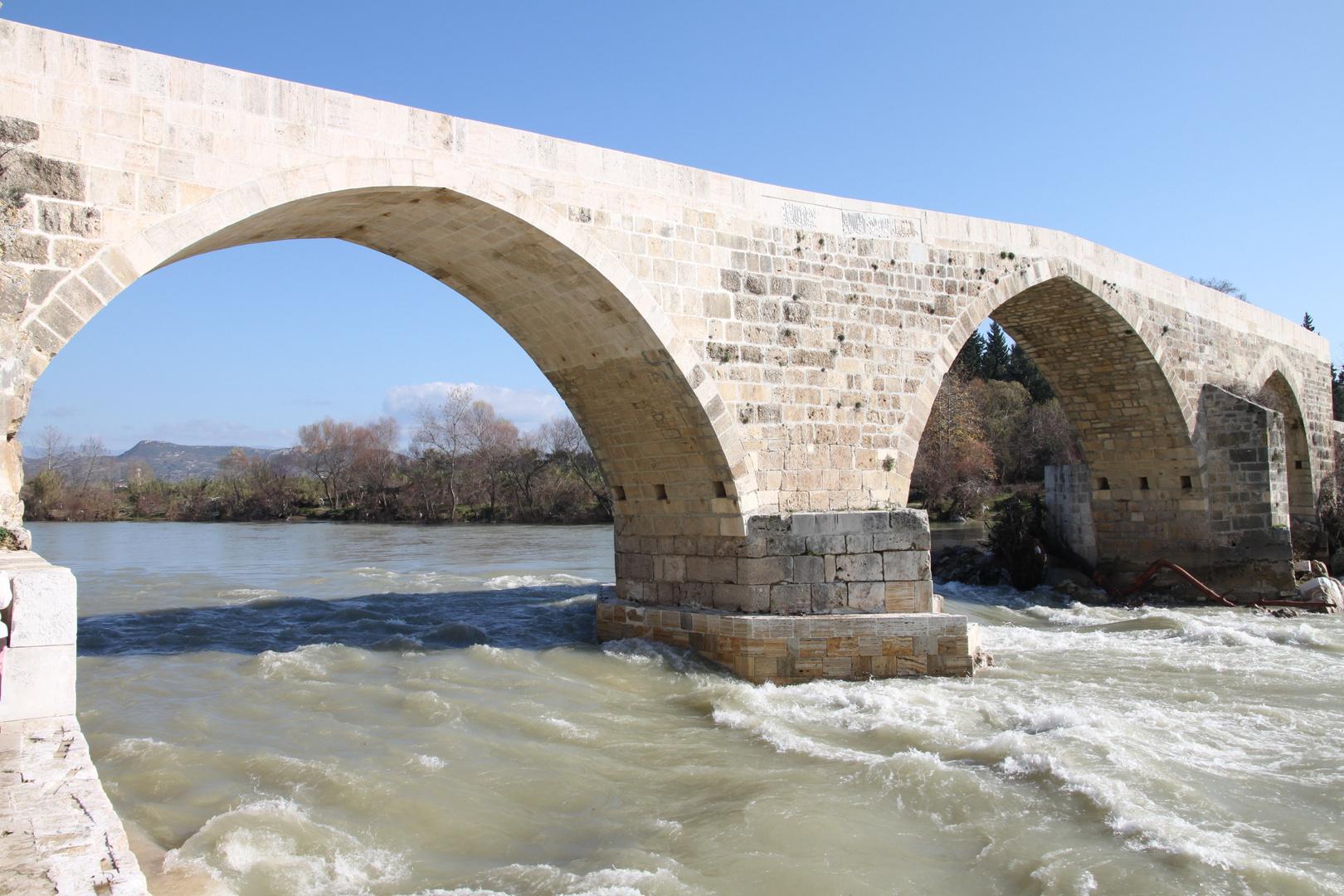 Aspendos-Brücke / Türkei