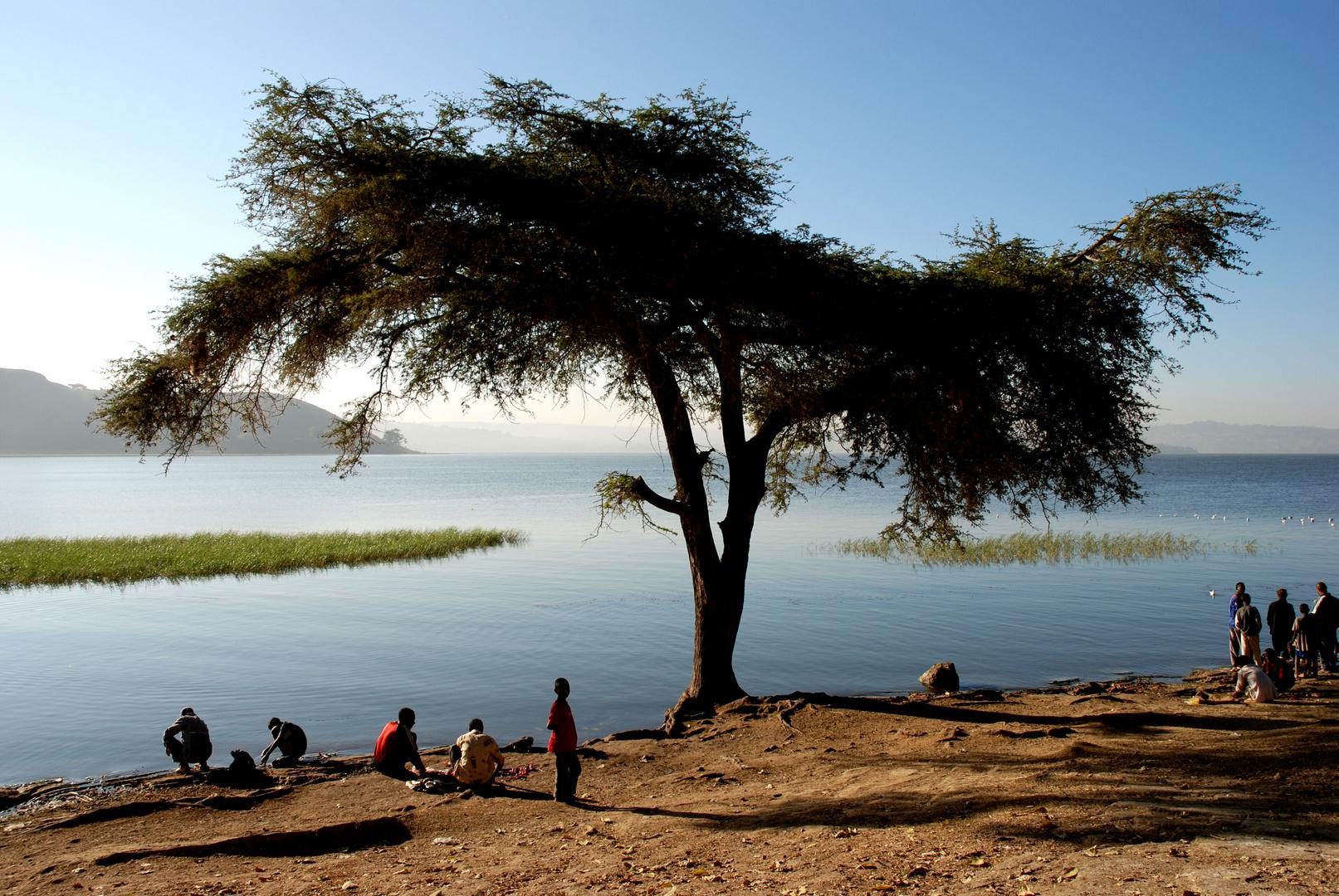 Assawa See in Ethiopien