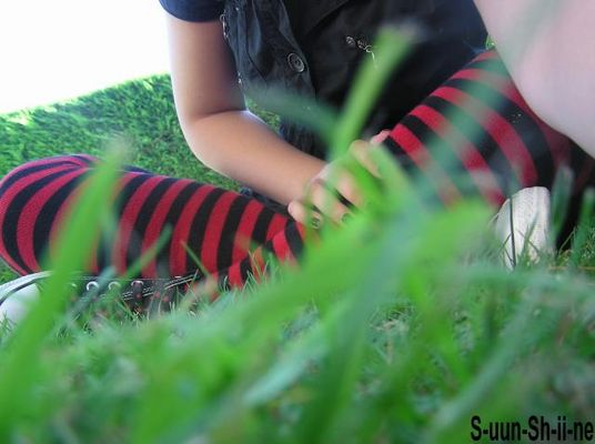 assis par terre