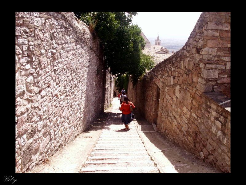 Assisi e i turisti