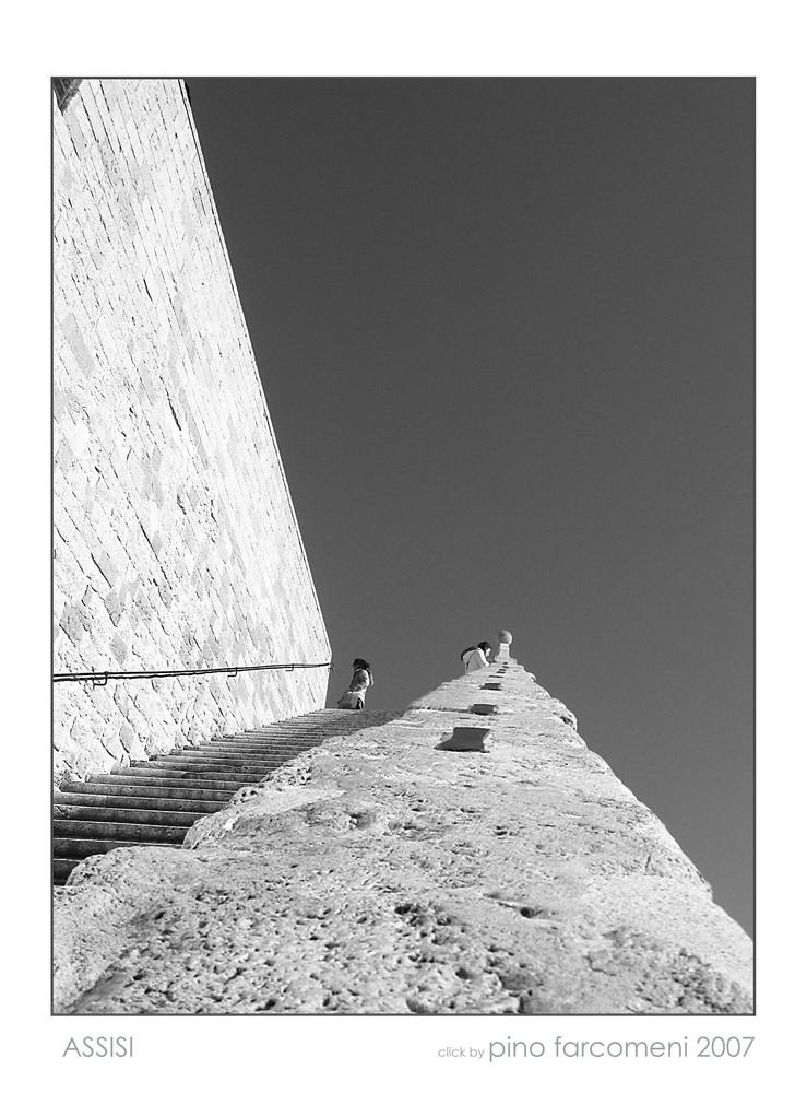 Assisi - verso il cielo