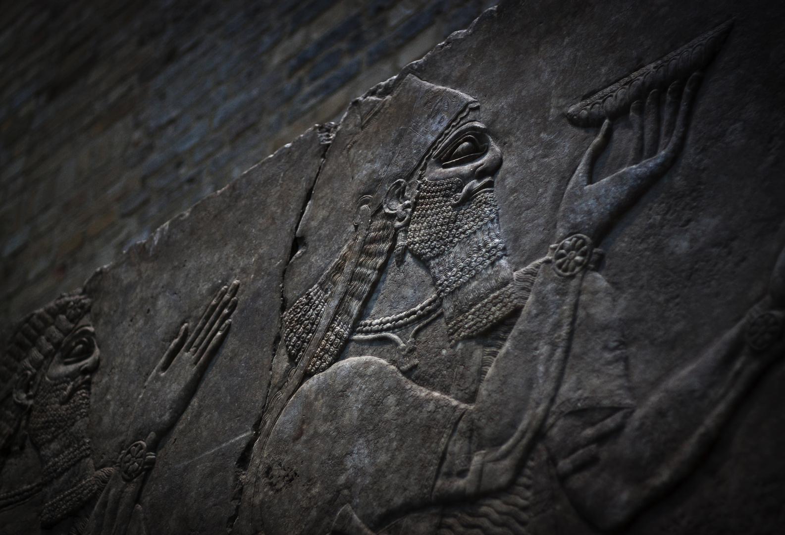 Assyrische Opferschale