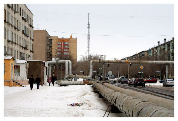 Astana - Hot water tubes