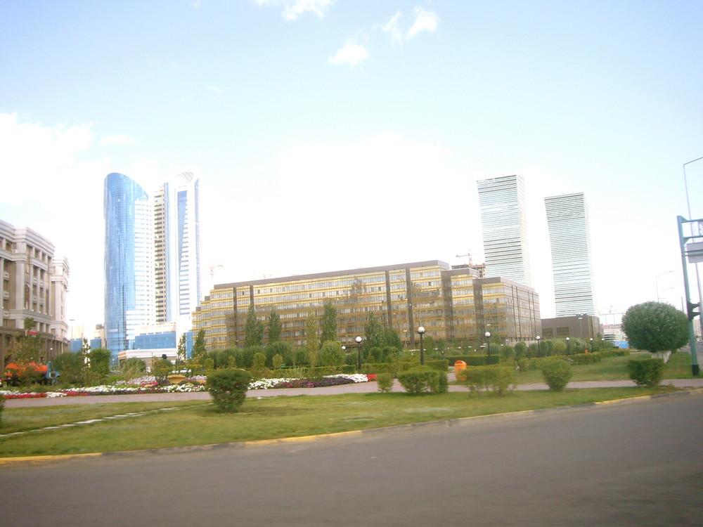 Astana Skyline Day