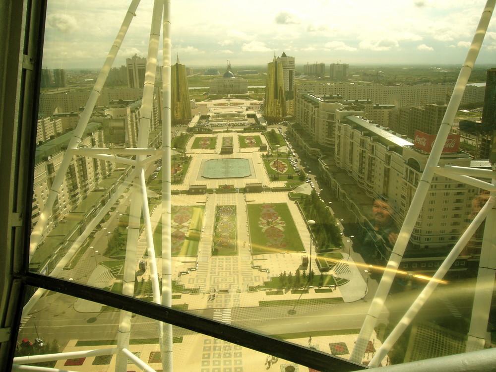 Astana von oben