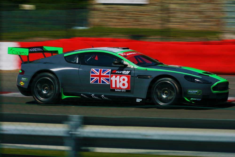 Aston in Spa Francorchamps