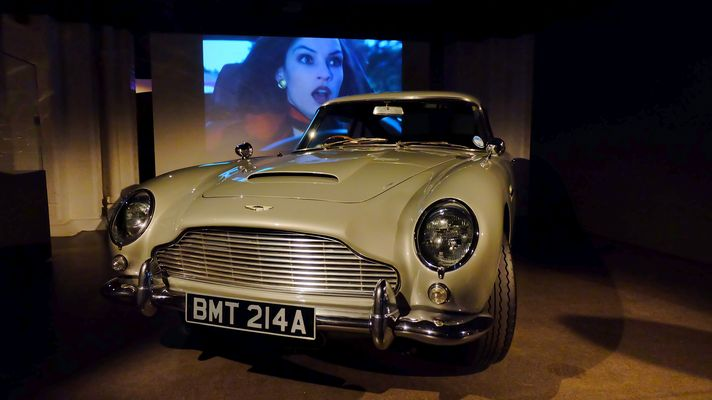 "Aston Martin ""Bond in Motion"" London 2014"