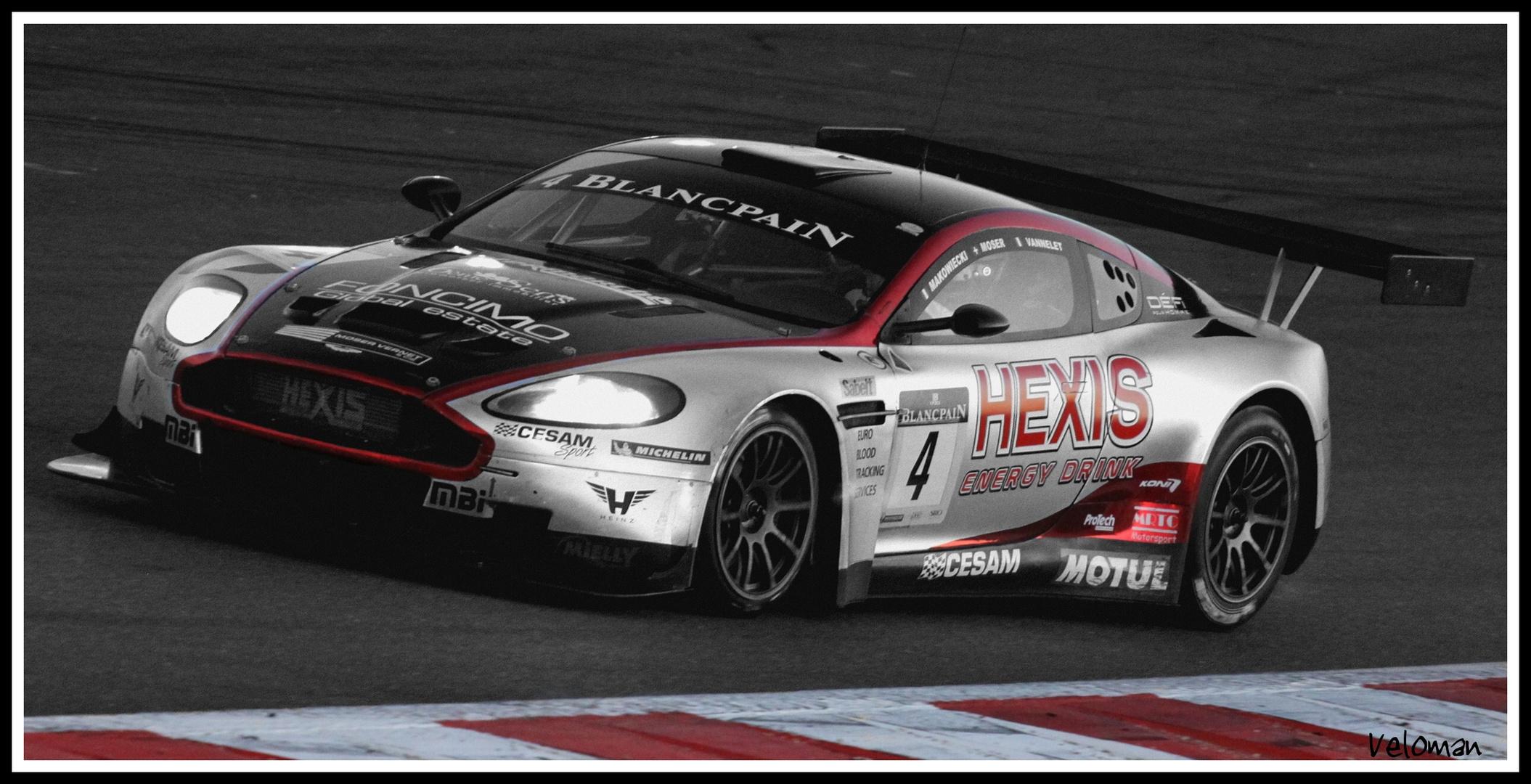 Aston Martin du team hexis