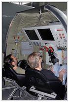 Astronautensitz beim Flug in der russischen Rakete zur ISS