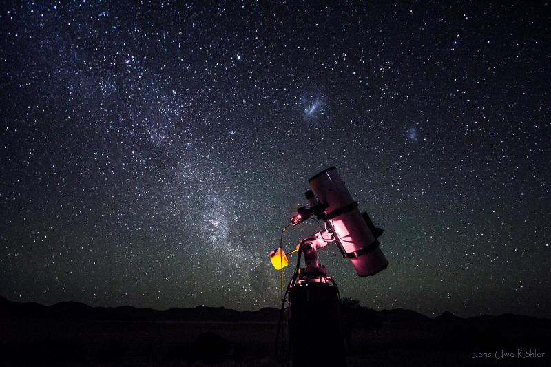 Astronomie auf Farm Kanaan (Namibia)