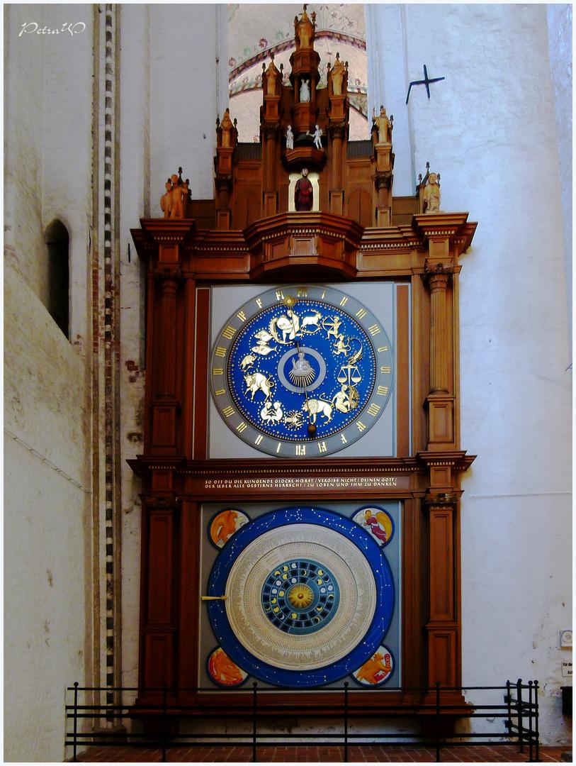 Astronomische in St. Marien zu Lübeck