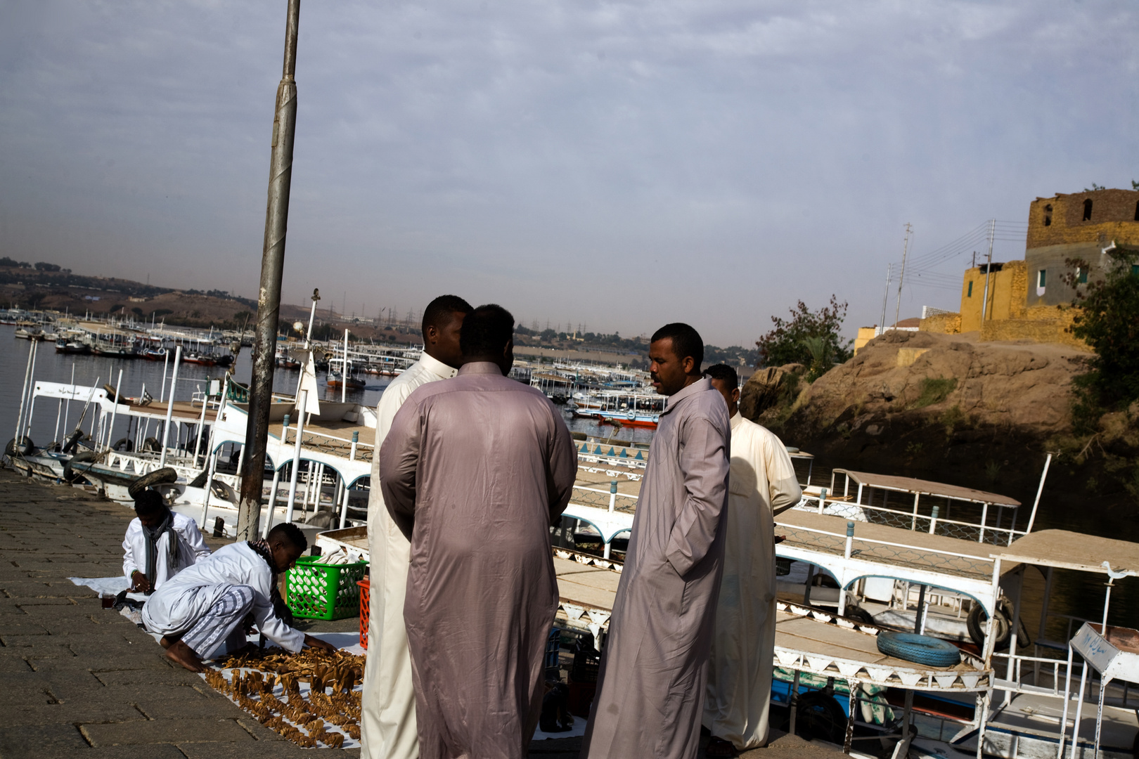 Aswan at morning