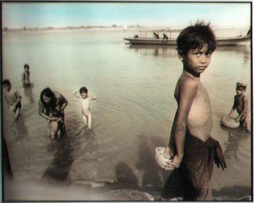 at river irrawaddy