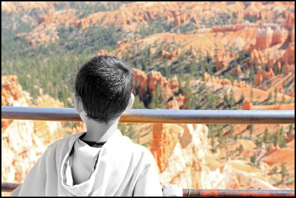 At the Bryce Canyon NP
