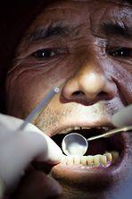 at the dentist - beim Zahnarzt