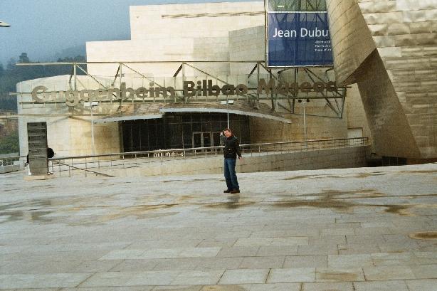 at the Guggenheim in Bilbao