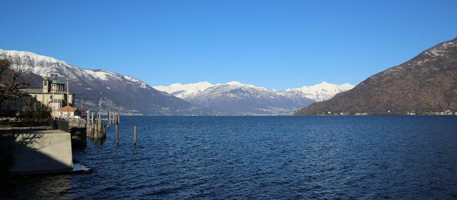 ...at the Lago Maggiore...