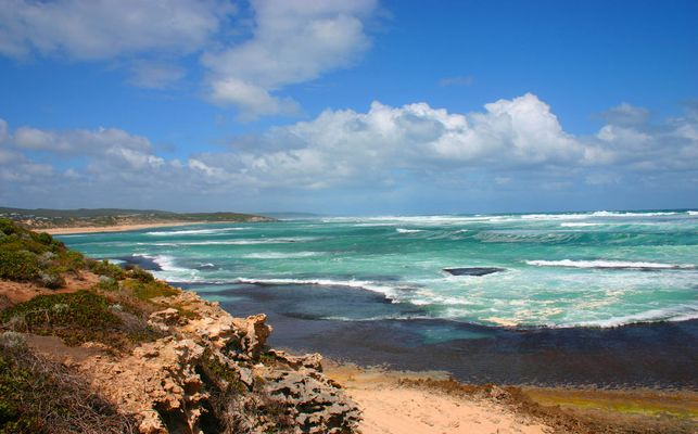 at the near of Margaret River