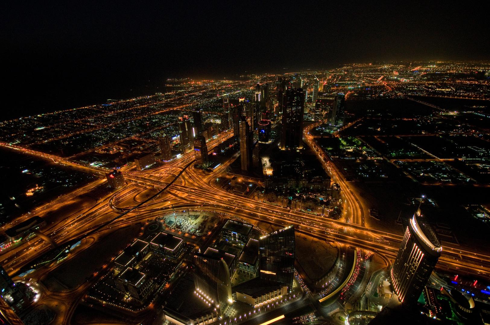 At the Top / Burj Khalifa Aussicht