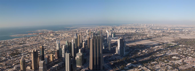 [ … At the top II - Skyline Dubai ]