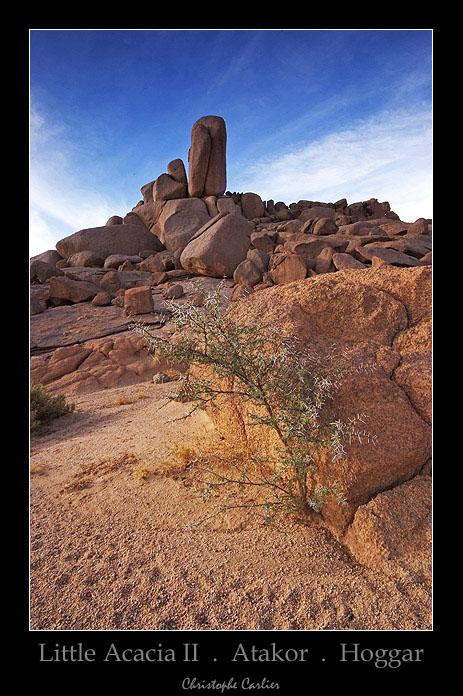 Atakor . Hoggar . Sahara . Algérie
