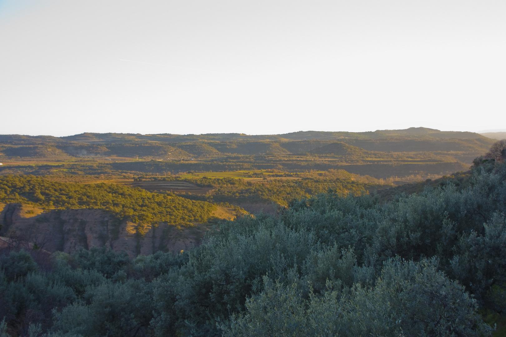 Atardece en la Sierra de Guara (Huesca)