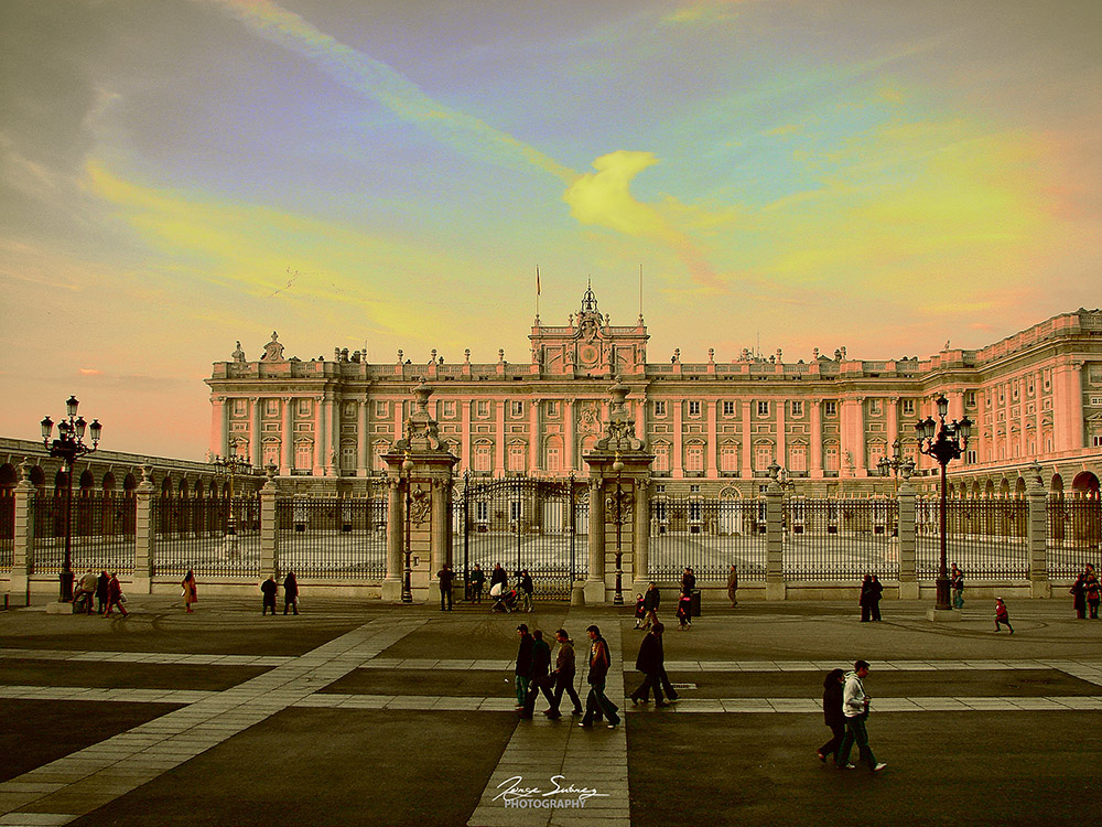 Atardece en palacio