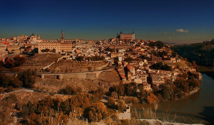 """Atardecer de otoño en Toledo"""