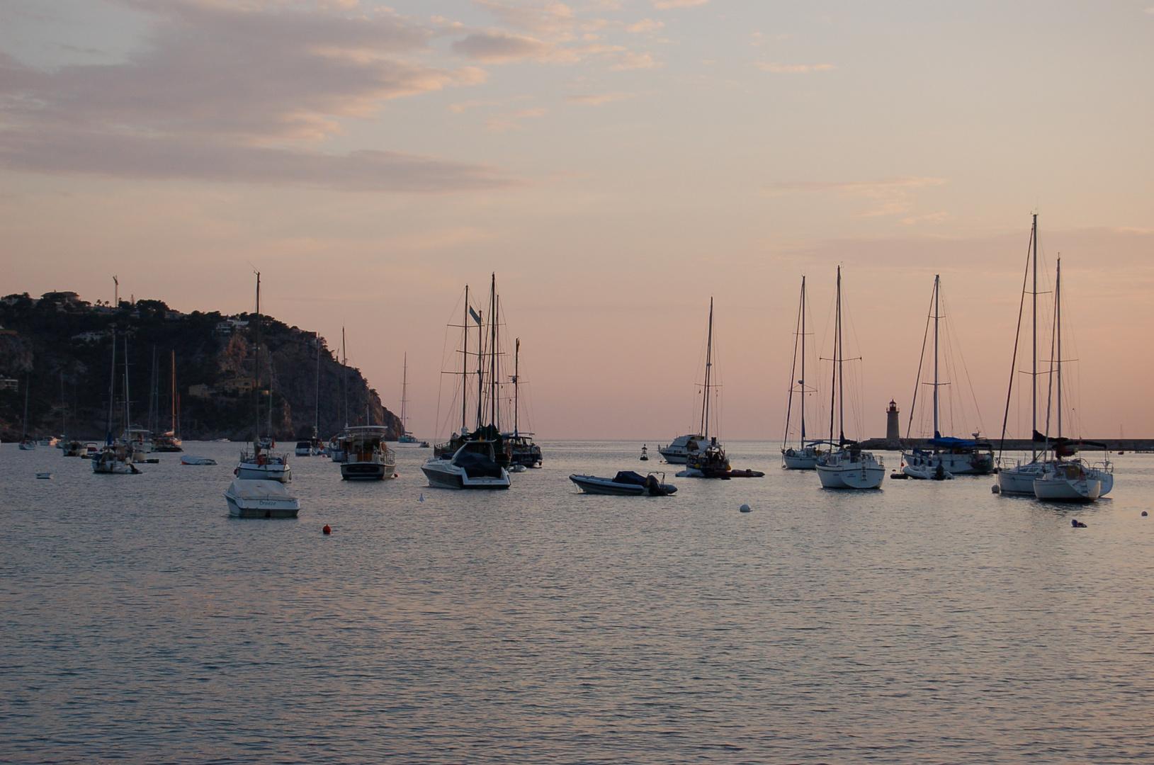 atardecer en Andraxt-Mallorca