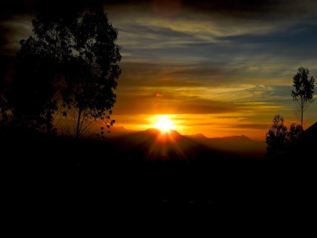 Atardecer en Cajamarca